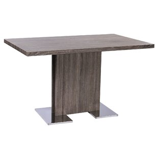 Holder Contemporary Dining Table by Orren Ellis 2019 Sale