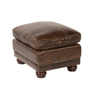 Jakey Leather Storage Ottoman by Darby Home Co
