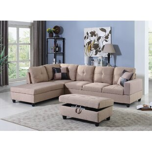 Fawcett Sectional with Ottoman