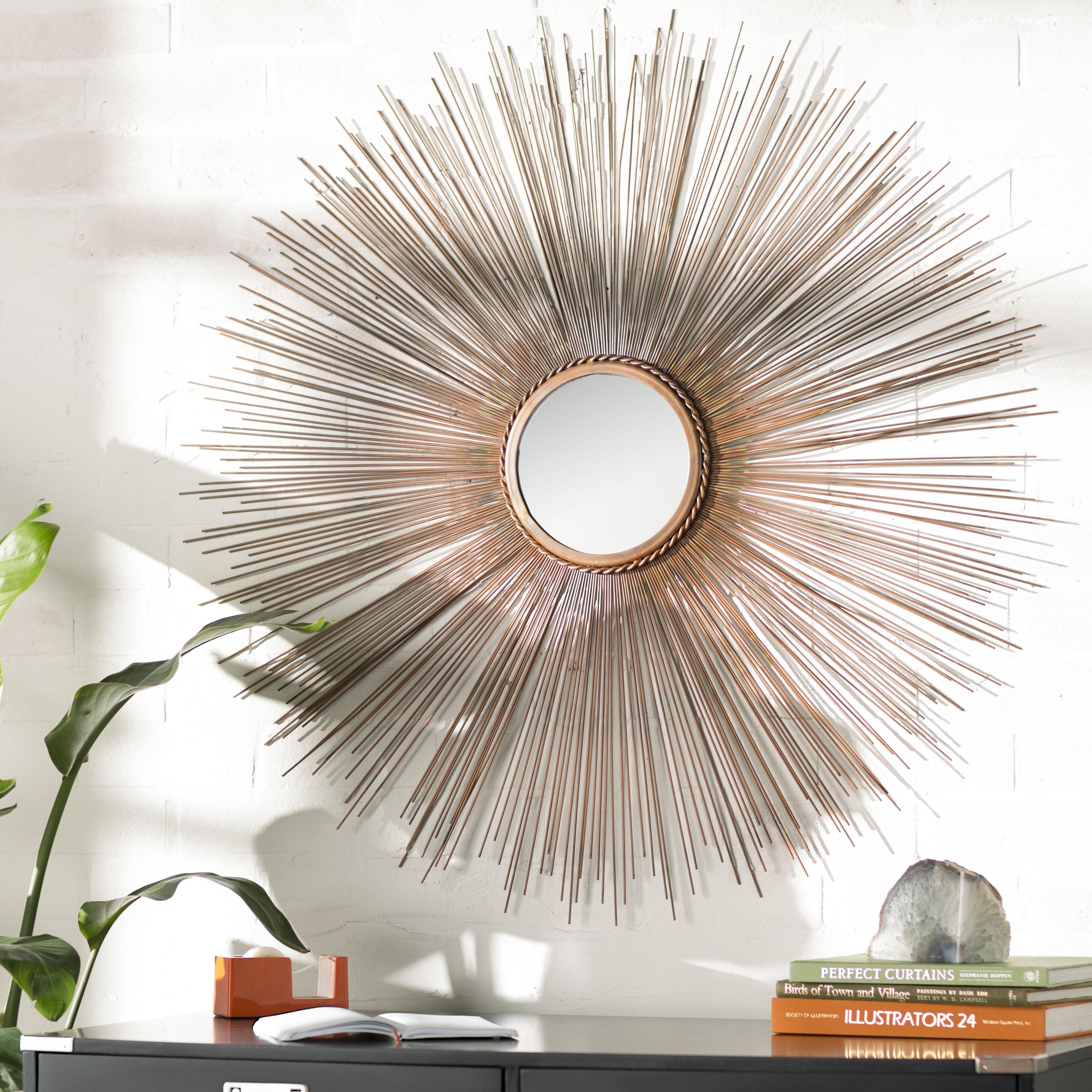 Copper Sunburst Mirrors You Ll Love In 2021 Wayfair