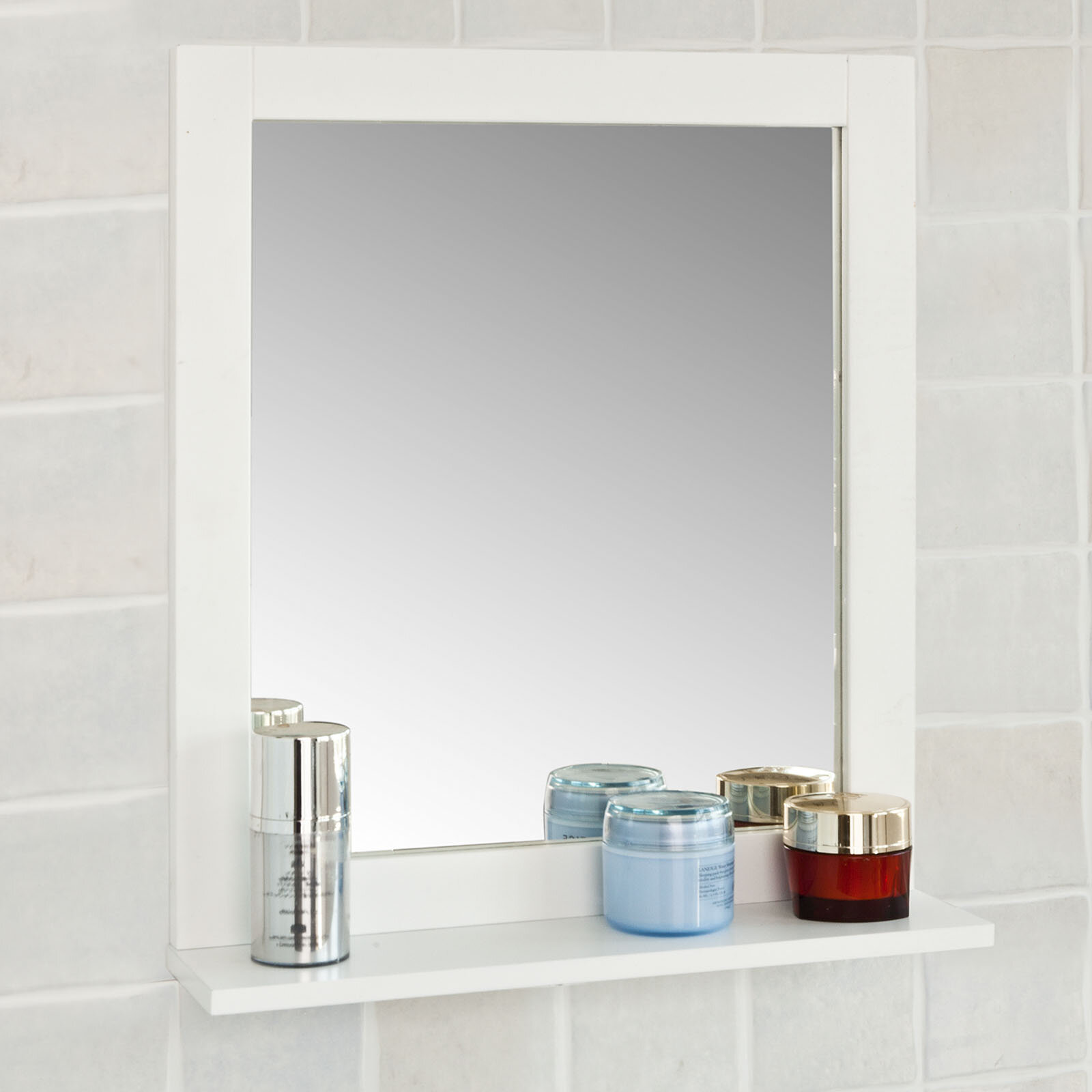 Brambly Cottage Eben Bathroom Vanity Mirror Reviews Wayfair Co Uk