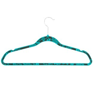 Affordable Price Blue Hawaii Velvet Touch Suit Non-Slip Hanger (Set of 20) ByHoney Can Do