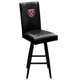 West Ham United Crest Logo 30 Swivel Bar Stool Dreamseat