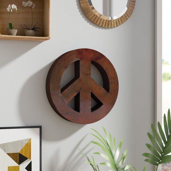 Rustic Peace Sign | Wayfair