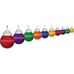 Polymer Products 20 ft. 10-Light Globe String Lights