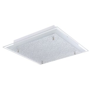 Arla 1-Light Flush Mount by Latitude Run