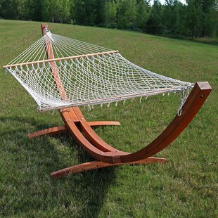 Highland Dunes Darcia Double Hammock with Stand