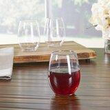 Plastic Disposable Wine Glass (Set of 64)