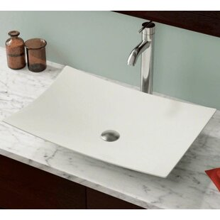 Searching for Vitreous China Rectangular Vessel Bathroom Sink By Polaris Sinks