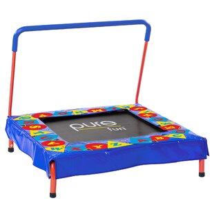 Pure Fun Kids 3' Square/Rectangle Preschool Trampoline