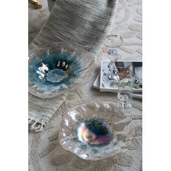 Astoria Grand Soila Glass Decorative Bowl Wayfair