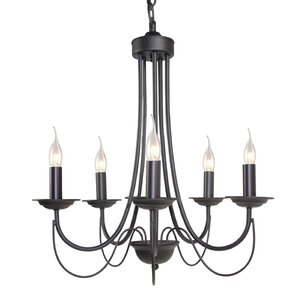 5-Light Candle-Style Chandelier