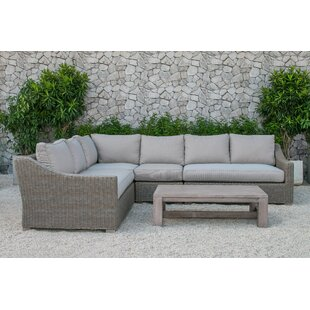 Darby Home Co Naperville 5 Piece Sectional Set with Cushions