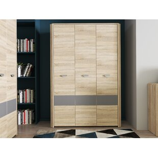 Bramley 3 Door Wardrobe By Ebern Designs