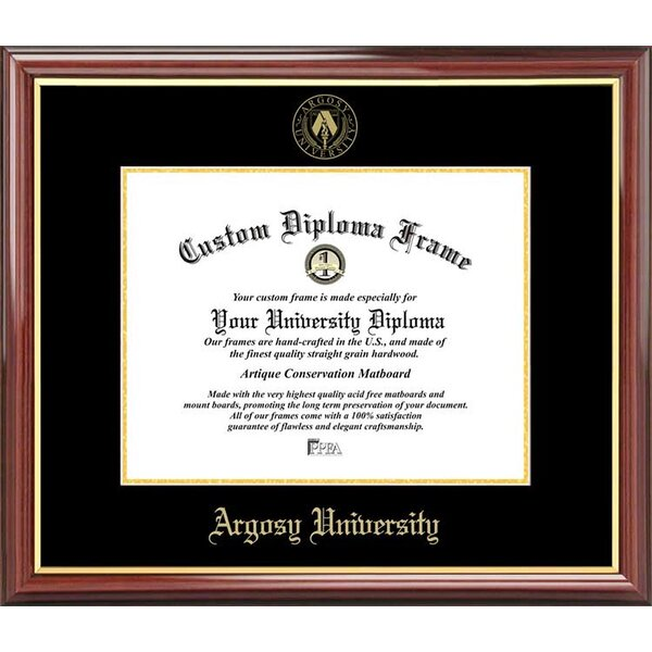 Diploma Frame Deals Argosy University Petite Picture Frame Wayfair