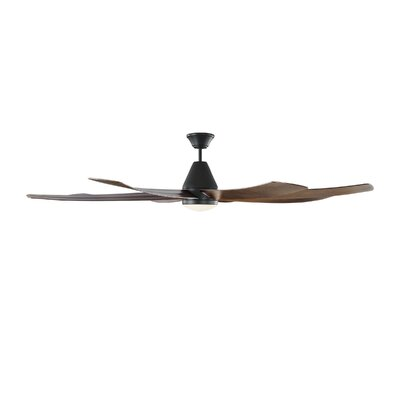 Black Indoor Outdoor Ceiling Fans With Lights You Ll
