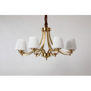 Suter 8-Light Shaded Chandelier by Charlton Home
