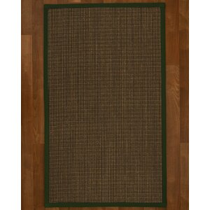 Hedlund Hand Woven Brown Area Rug