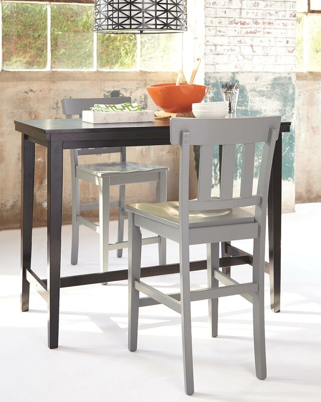 Andover Mills Justine Counter Height Dining Table Reviews Wayfair
