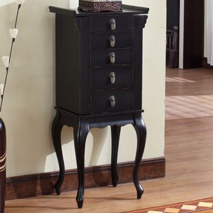Buy clear Nang Jewelry Armoire with Mirror ByWildon Home ®