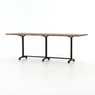 Sommer Wood Dining Table by 17 Stories