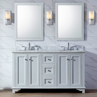 Plemons 60 Double Bathroom Vanity Set by Charlton Home