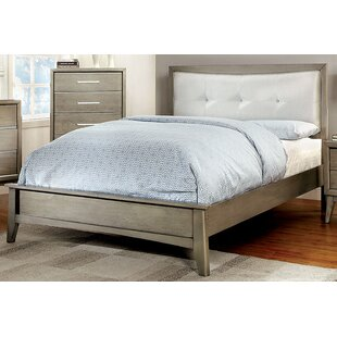 Siding Spring Upholstered Panel Bed by Latitude Run Bargain