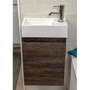 Mince 390mm Wall Mount Vanity Unit By Belfry Bathroom