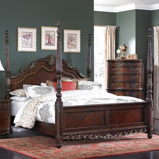 Astoria Grand Chalus Four Poster Bed