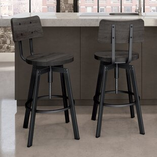 Karly Adjustable Height Bar Stool