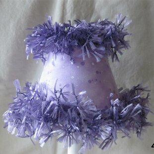 Whisked Amethyst 11 Fabric Empirele Lamp Shade