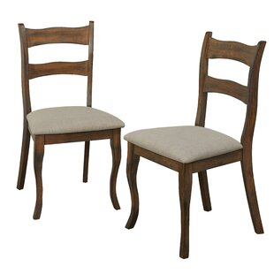 Find for Heslin Solid Wood Dining Chair (Set of 2) By Winston Porter