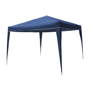 10 Ft. W x 10 Ft. D Steel Pop-Up Canopy by ALEKO