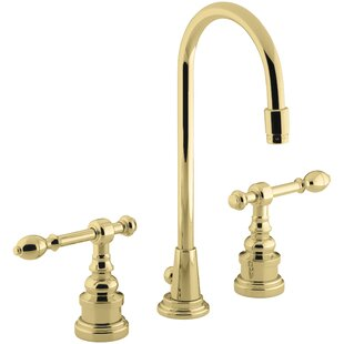 IV Georges Widespread Bathroom Faucet with Drain Assembly By Kohler