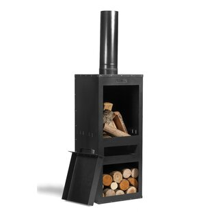 Suter Steel Wood Burning Chiminea By Sol 72 Outdoor