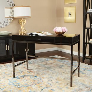 Amiya Glass Writing Desk
