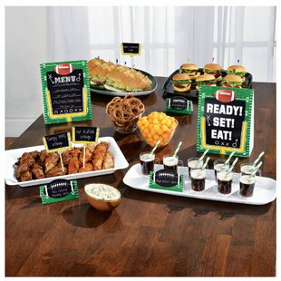 Football Field Buffet Paper Decorating Set