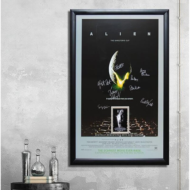 Art Print POSTER CANVAS Aliens Poster Art Silk Fabric Hot Movie