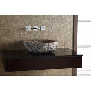 Ryvyr Marble Stone Circular Vessel Bathroom Sink