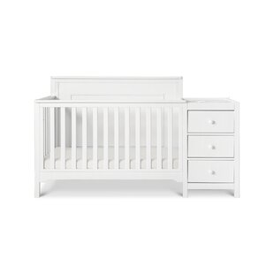 Reviews Dakota 4-in-1 Convertible Crib and Changer with Mattress ByCarter's®