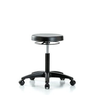 Height Adjustable Lab Work Stool by Perch Chairs & Stools New