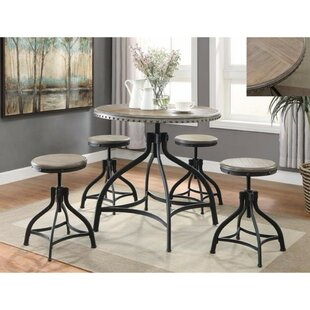 Williston Forge Merrick Road 5 Piece Dining Set