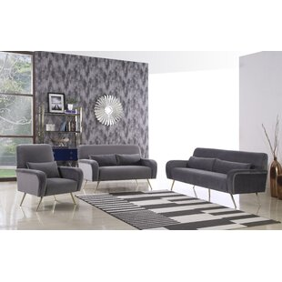 SanderSon Configurable Living Room Set by Everly Quinn
