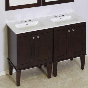 Rosehill 48 Double Bathroom Vanity Set by Winston Porter