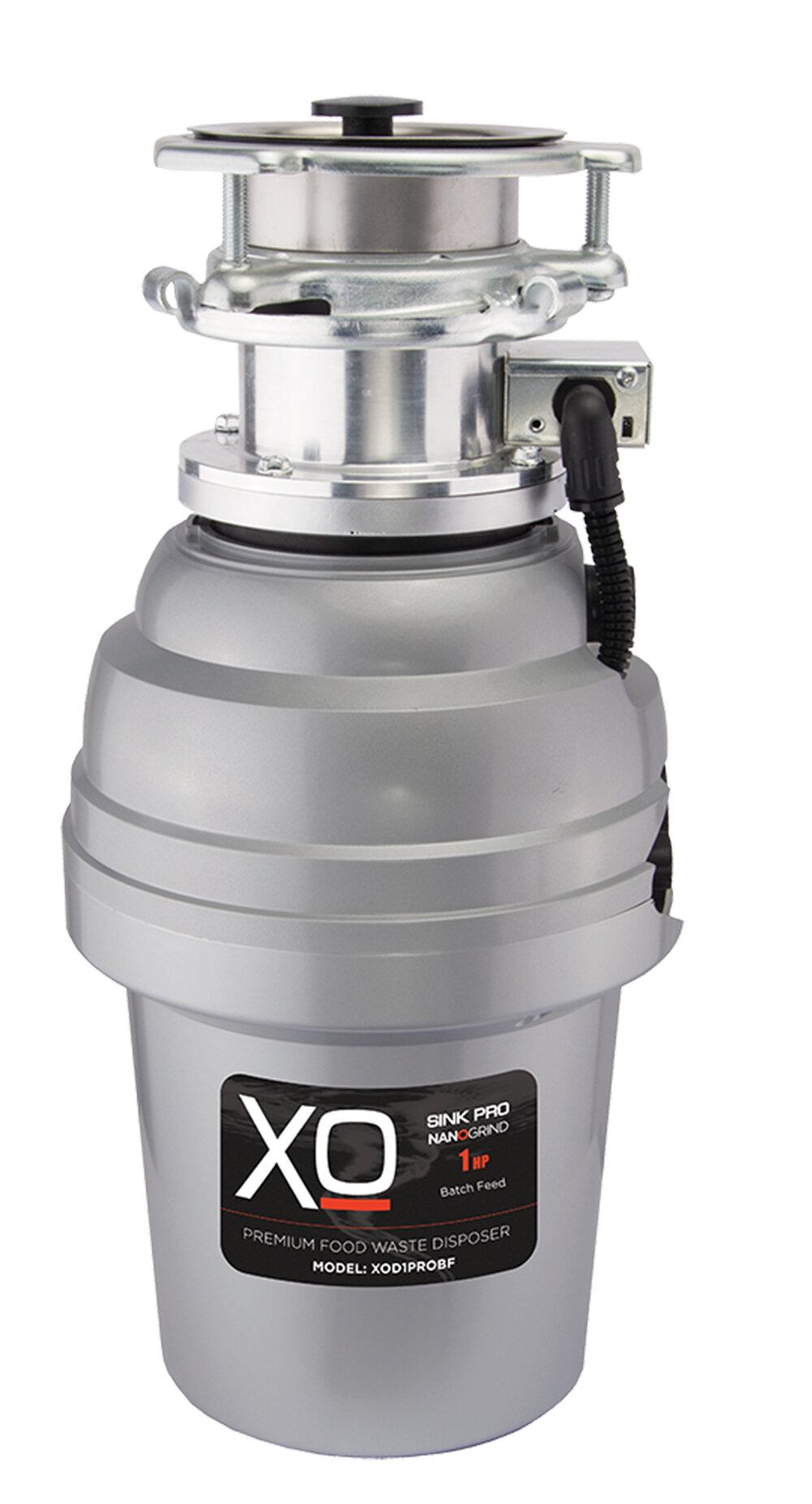 Xo Appliance 1 Hp Batch Feed Garbage Disposal Wayfair