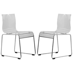 LeisureMod Lima Side Chair (Set of 2)