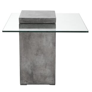 Grange Anthracite End Table