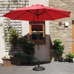 Rebeca 2.7m Traditional Parasol By Freeport Park