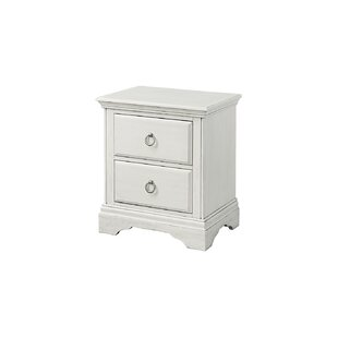 Crampton 2 Drawer Nightstand