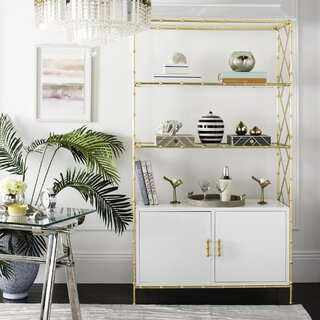 Ariadne Standard Bookcase by Everly Quinn SKU:BD110165 Price Compare